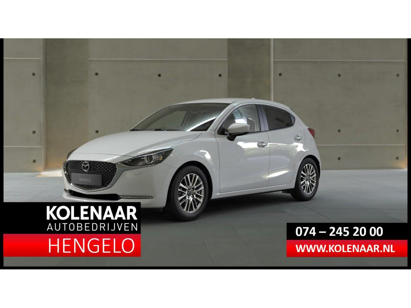 Mazda 2 1.5i style selected eur 2.450 voordeel my 2020 m hybrid apple car