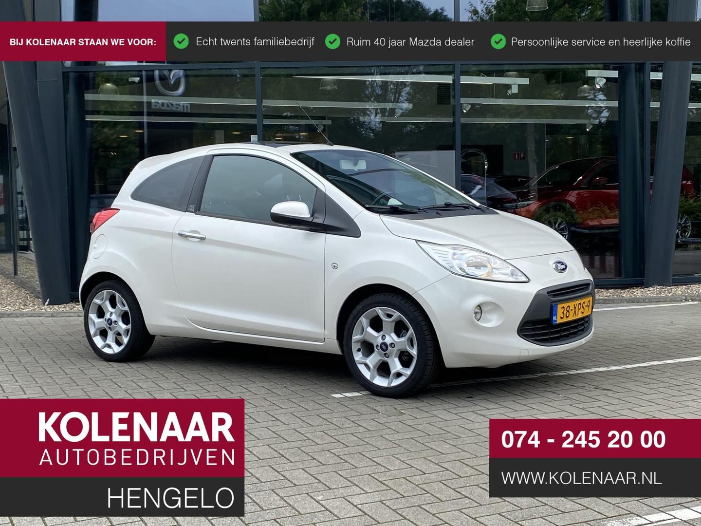 Ford Ka 1.2 titanium x start/stop airco/panoramadak /winterbanden