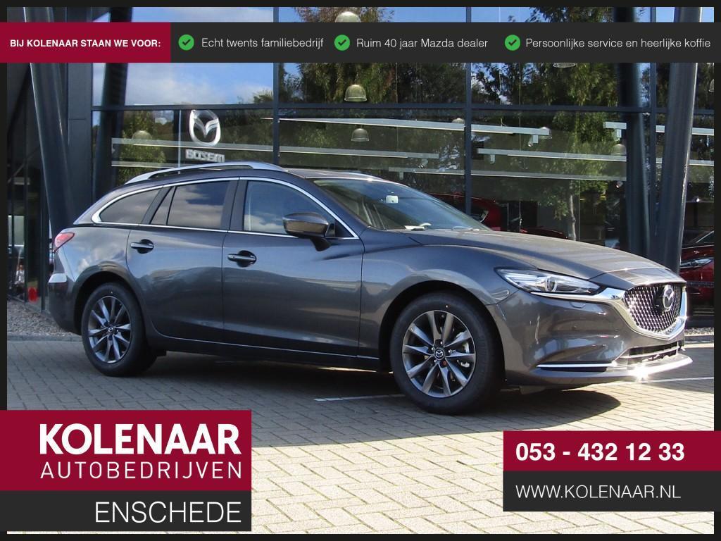 Mazda 6 Eur 5.645 voordeel 2.0i automaat comfort plus navi /leder/360view