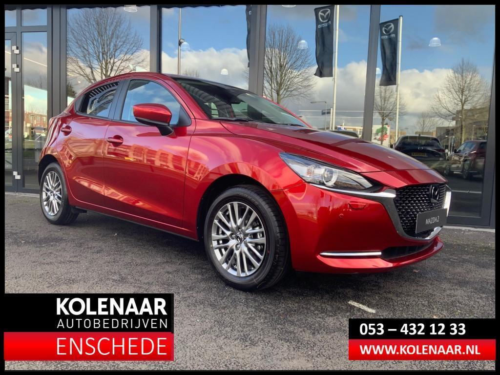 Mazda 2 Eur 1.500 voordeel 1.5i signature my2020 m hybrid /led/navi/came