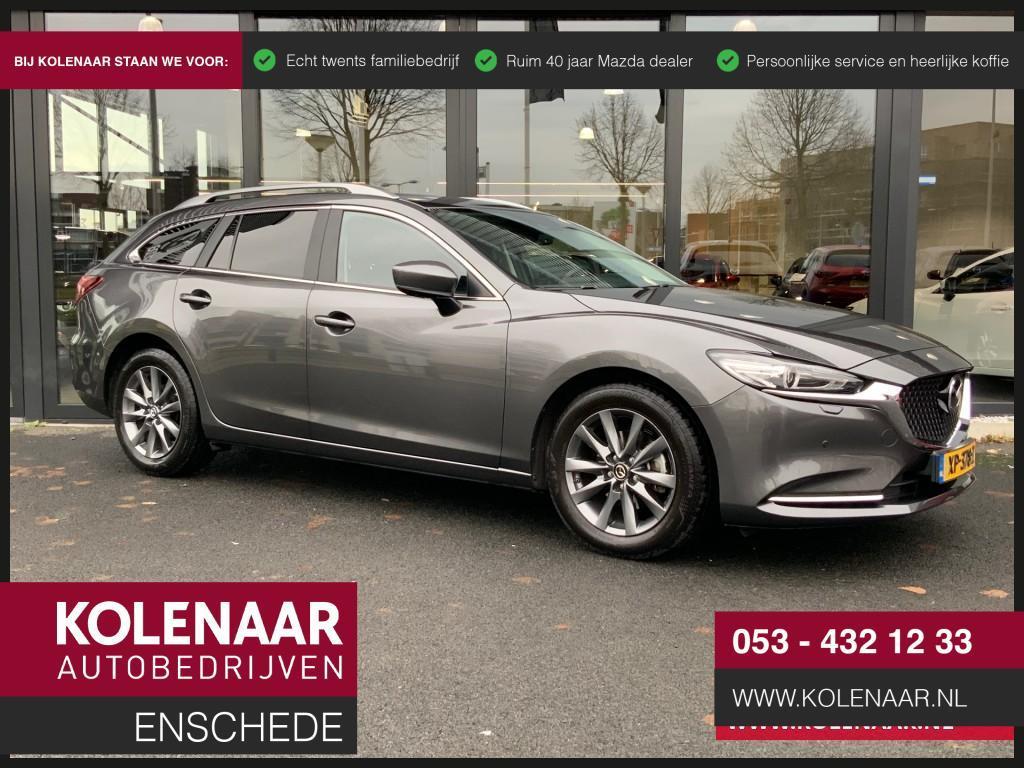 Mazda 6 2.0i automaat comfort navi/bose/leer/radarcruise/l ed