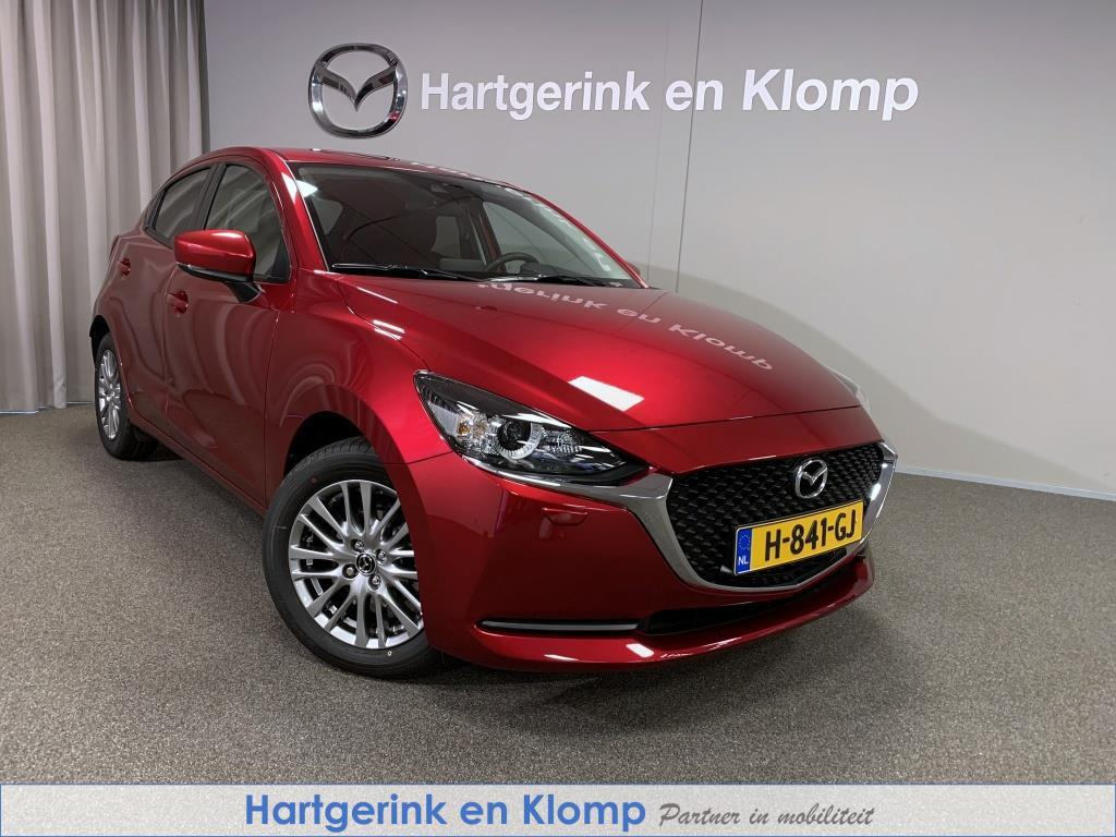 Mazda 2 1.5 style selected met navigatie en apple carplay