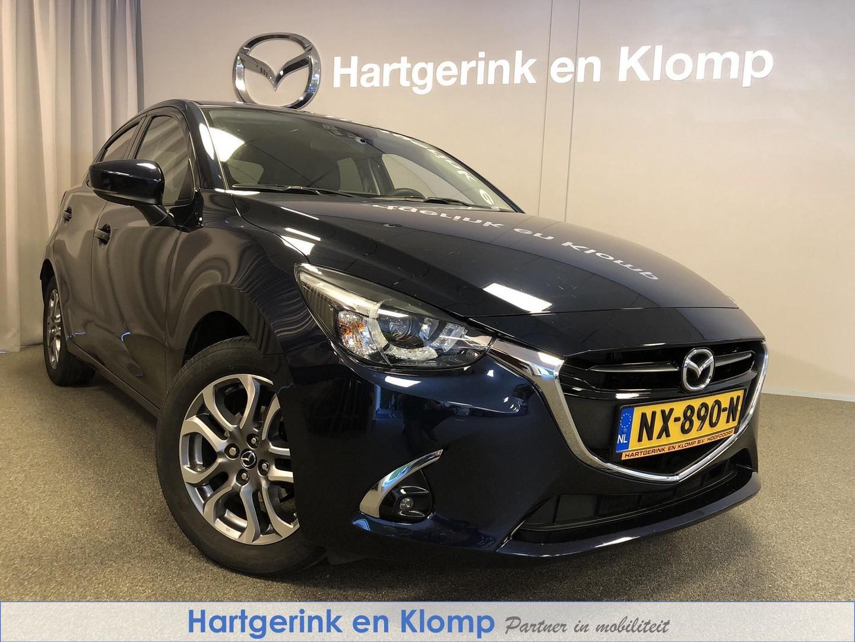 Mazda 2 1.5 gt-luxury met sportuitlaat / dealer onderhouden