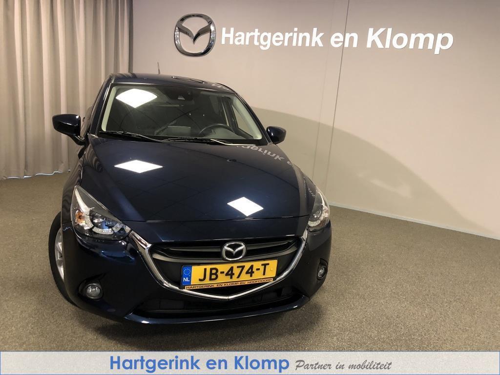 Mazda 2 1.5 ts+ navigatie: dealer onderhouden