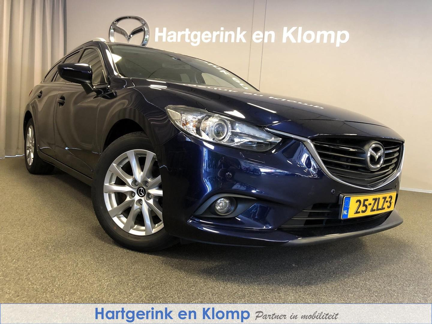 Mazda 6 Sportbreak 2.0 ts+ lease pack met trekhaak