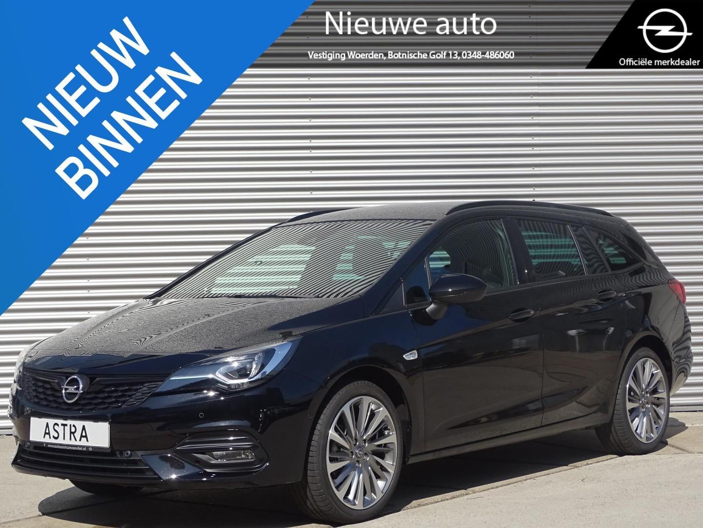 Opel Astra Sports tourer 1.2 turbo ultimate lederenstoelen met geheugen