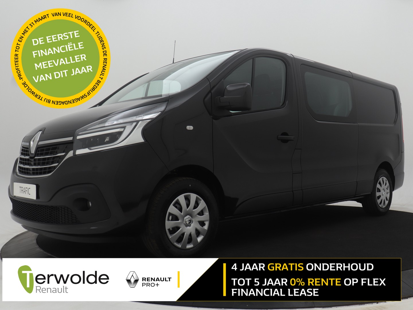 Renault Trafic 2.0 dci 145 automaat t29 l2h1 dc business