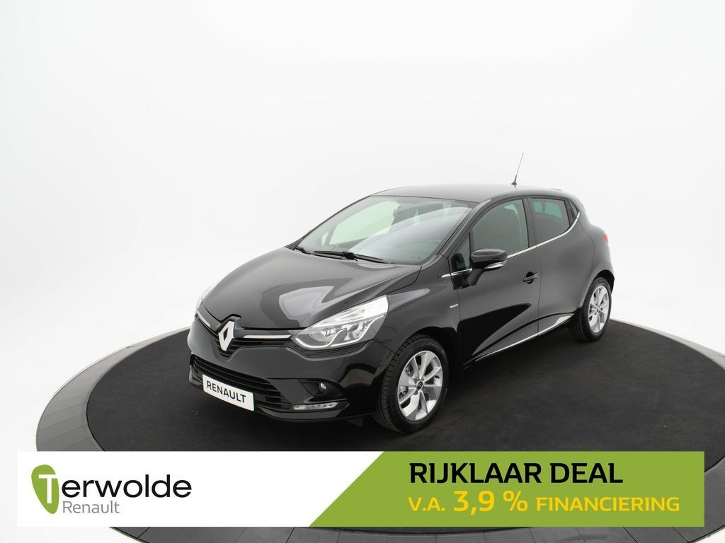 Renault Clio 0.9 tce 90 pk limited navigatie