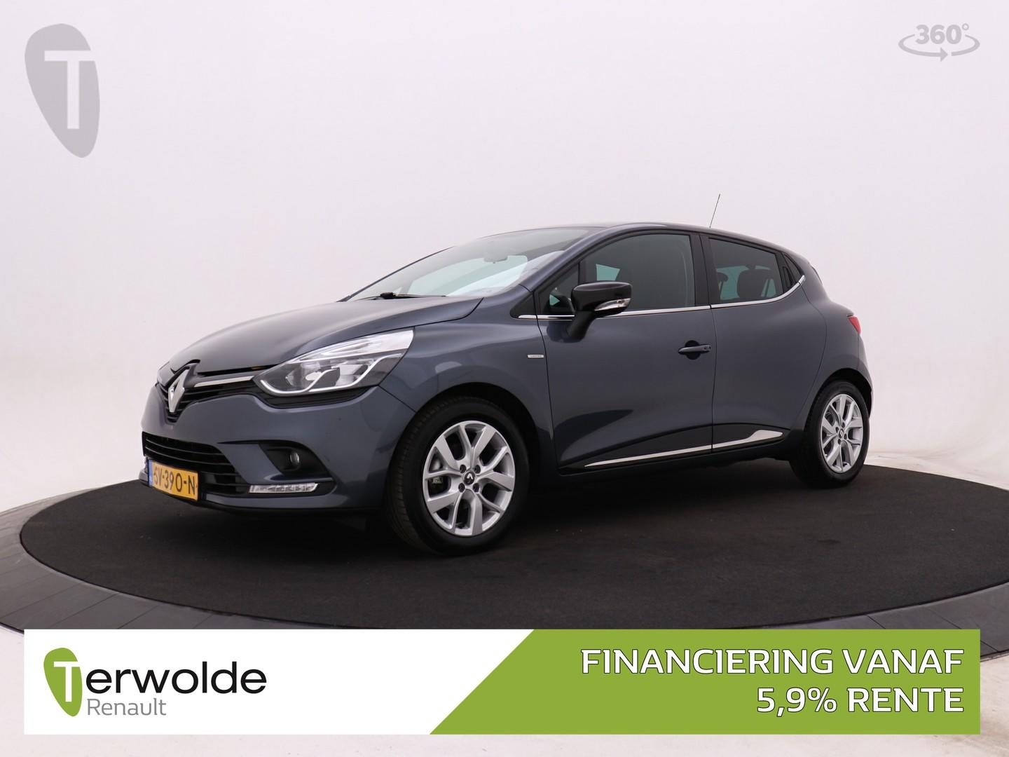 Renault Clio 0.9 tce 90 pk limited