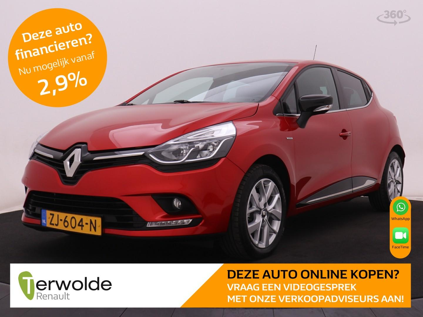 Renault Clio 90 pk tce limited