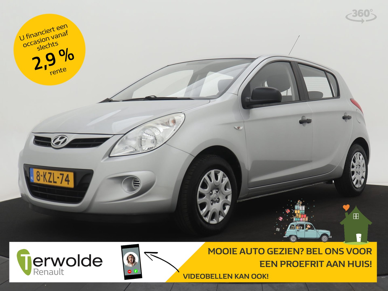Hyundai I20 1.2i business edition proefrit aan huis is mogelijk!