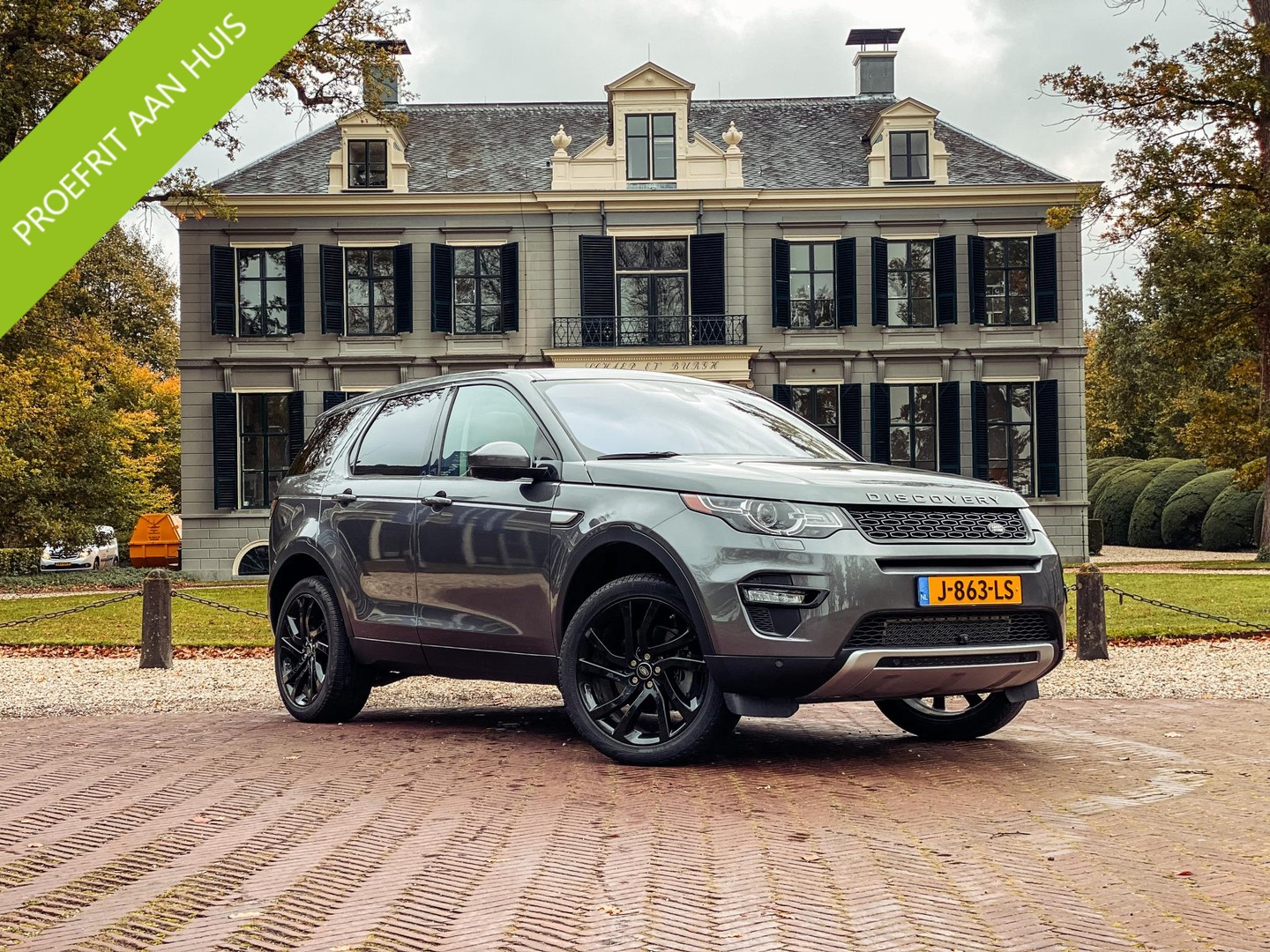 Land rover Discovery sport 2.0 si4 hse 7p. automaat/ trekhaak/ leder/ panoramadak/ 7 persoons uniek!