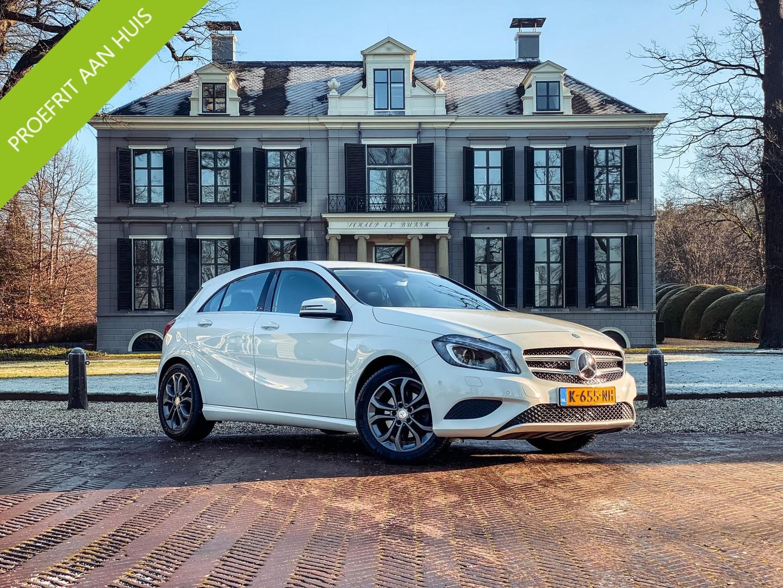 Mercedes-benz A-klasse 180 prestige automaat/ halfleer/ 17-inch/ stoelverwarming/ cruise control
