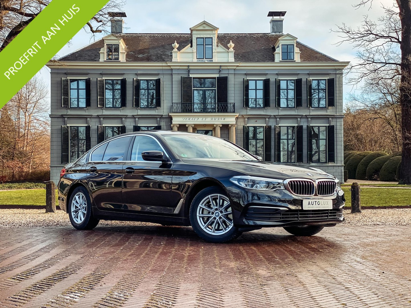 Bmw 5 serie 530e iperformance high executive btw-auto/ automaat/ hybride/ leer/ panoramadak