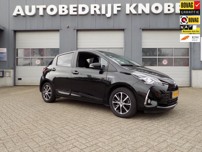Toyota Yaris 1.5 hybrid design sport nl auto, nap, automaat, lage kilometerstand, 1e eig, oh hist.