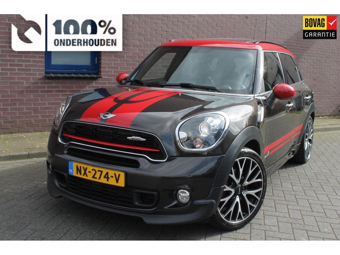 Mini Countryman 1.6 john cooper works all4 chili automaat ,met historie !