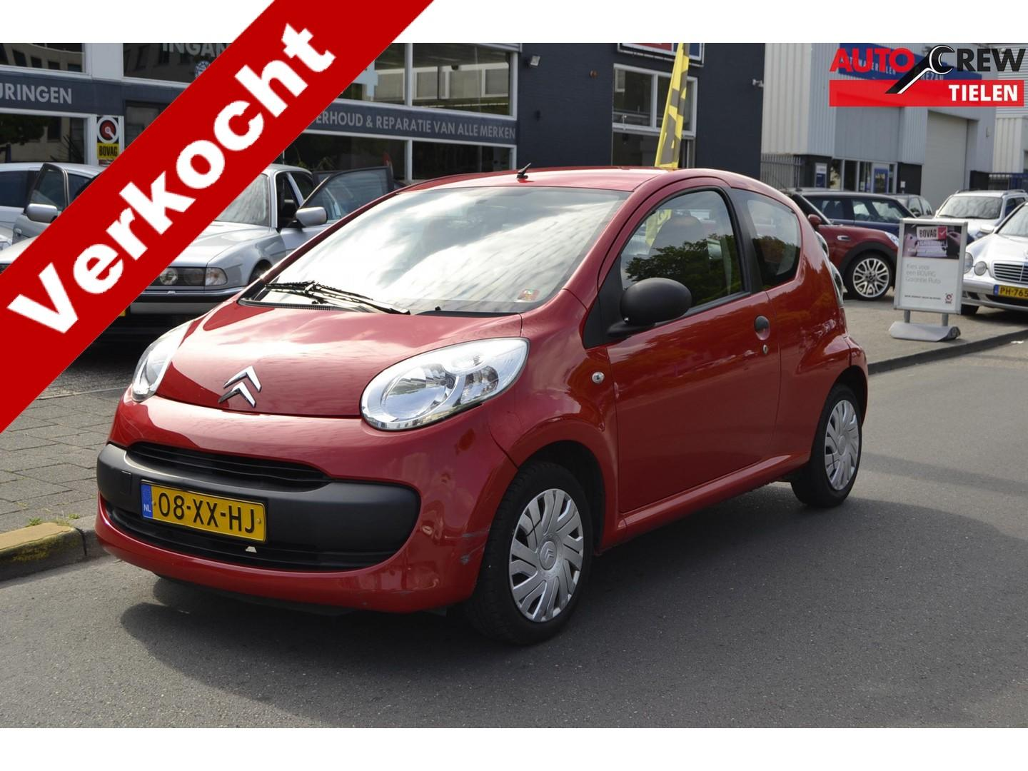 Citroën C1 1.0-12v séduction 3 drs, leuke auto!