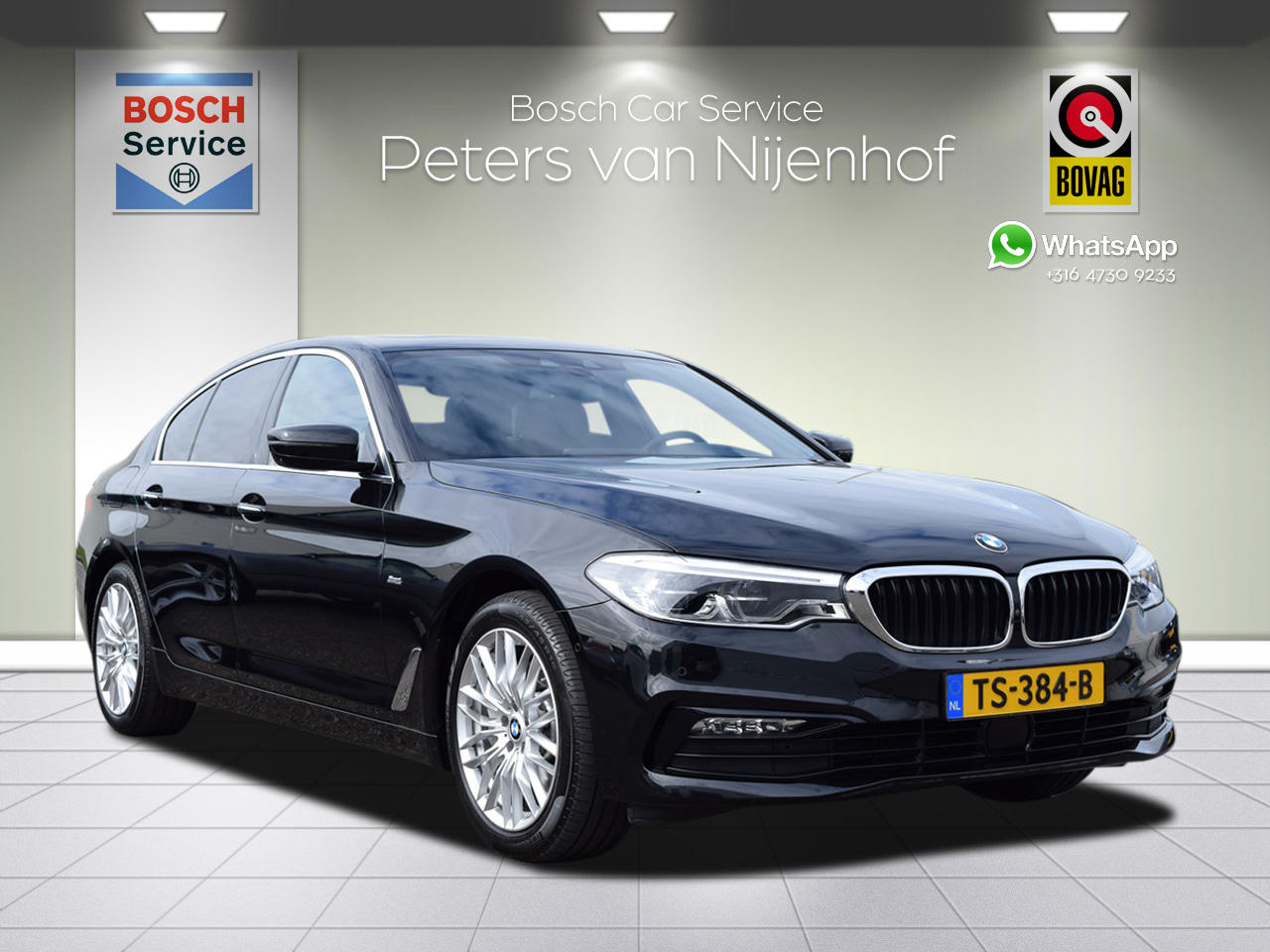 Bmw 5 serie 540i xdrive high executive headup leder 340pk opendak 50dkm