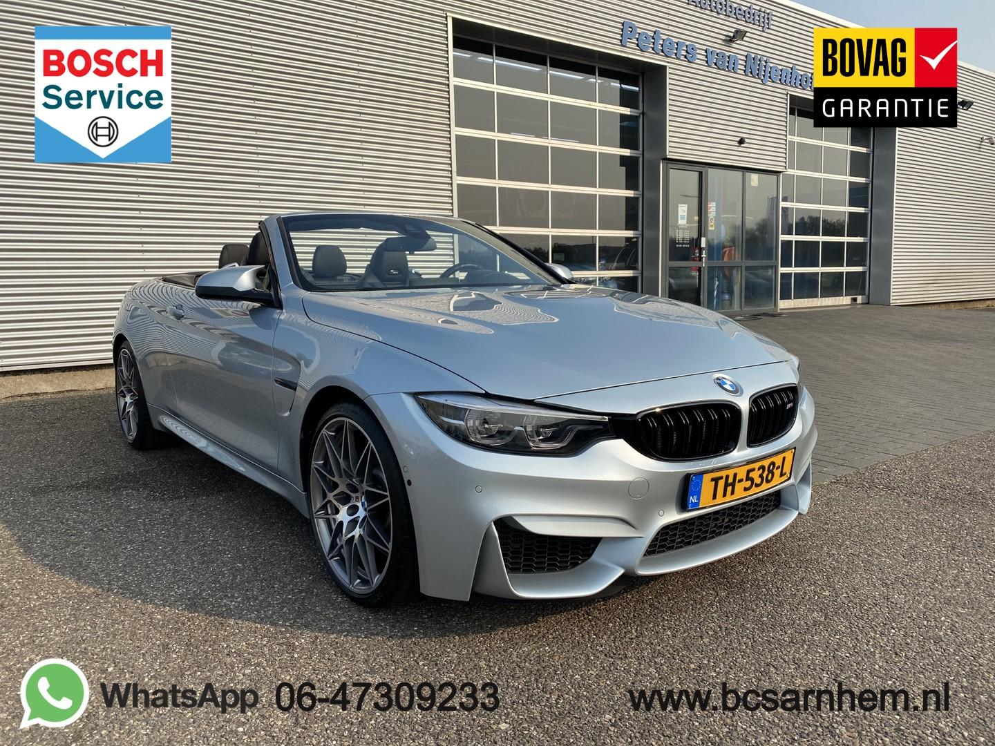 "Bmw 4 serie Cabrio m4 competition dct 450pk 20"" leder tv dab harman kardon 26.180km"