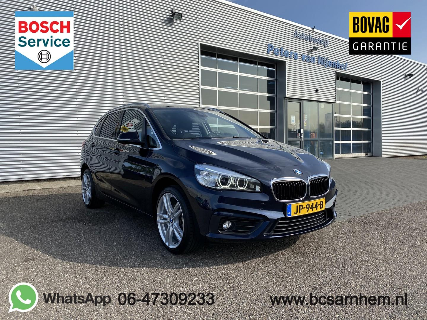 "Bmw 2 serie Active tourer 216i centennial executive navi 18"" led 102pk pdc 71dkm"