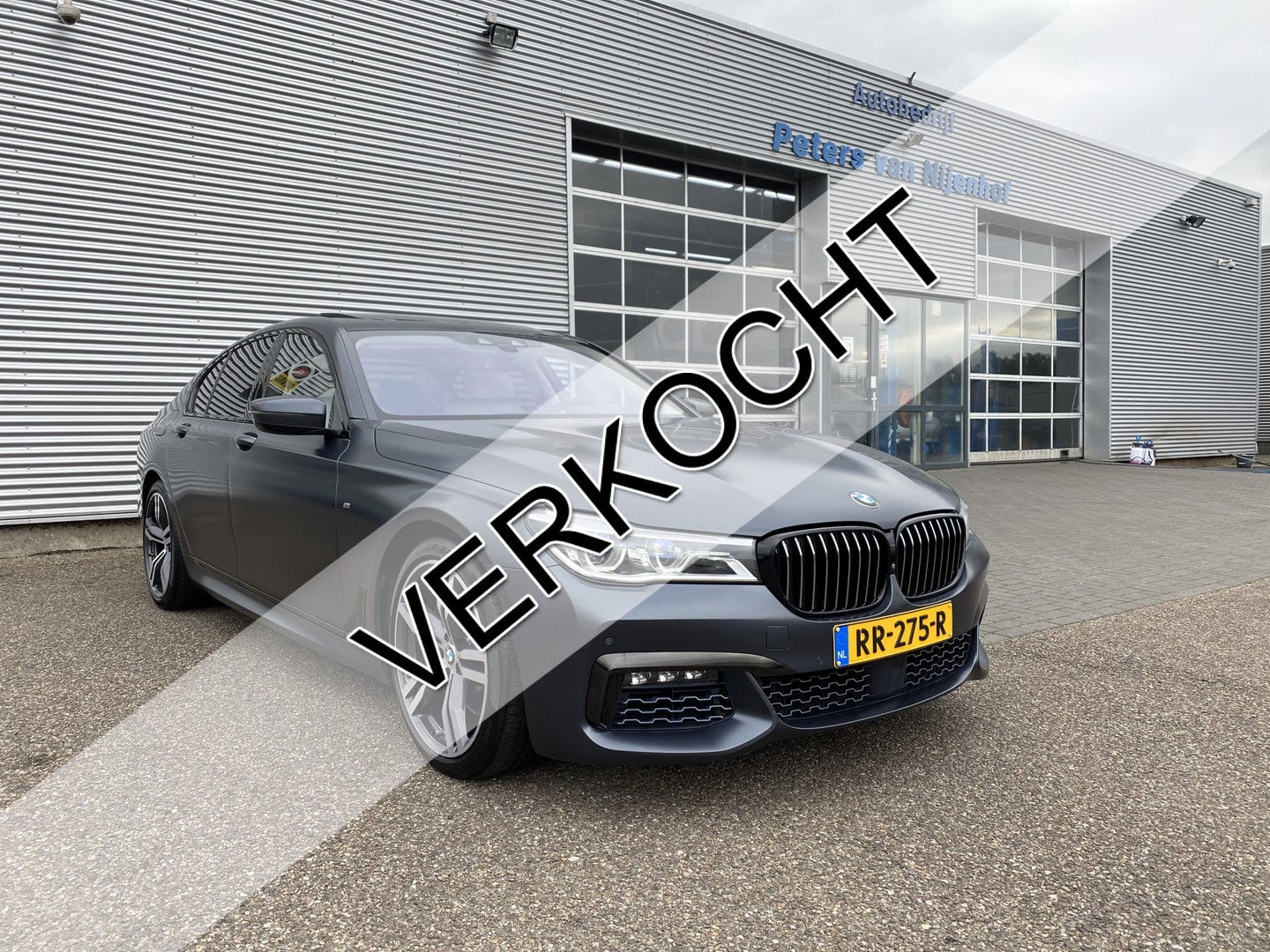 "Bmw 7 serie 750i xdrive high executive m-sportpakket bowers massage head-up panorama 20"" 449pk 70dkm"