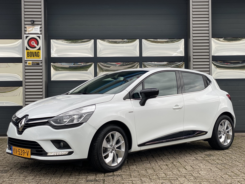 "Renault Clio 0.9 tce limited 5drs navi pdc 16"" 90pk 57dkm"