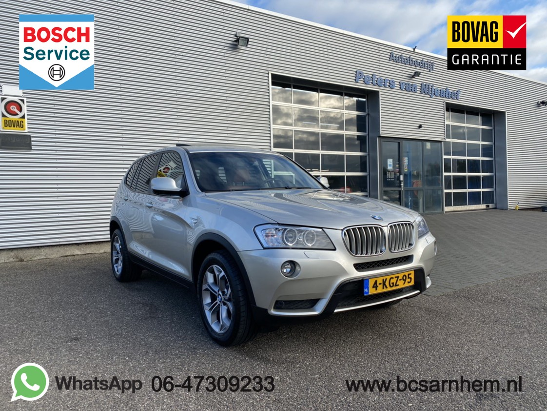 "Bmw X3 Xdrive28i high executive panoramadak pdc leder xenon 245pk clima 18"" 106dkm"