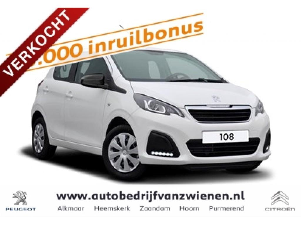 Peugeot 108 5drs active pack premium