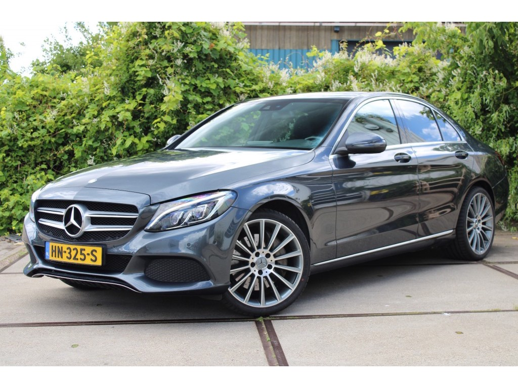 Mercedes-benz C-klasse C350e hybride amg line pamoramadak 7% bijtelling