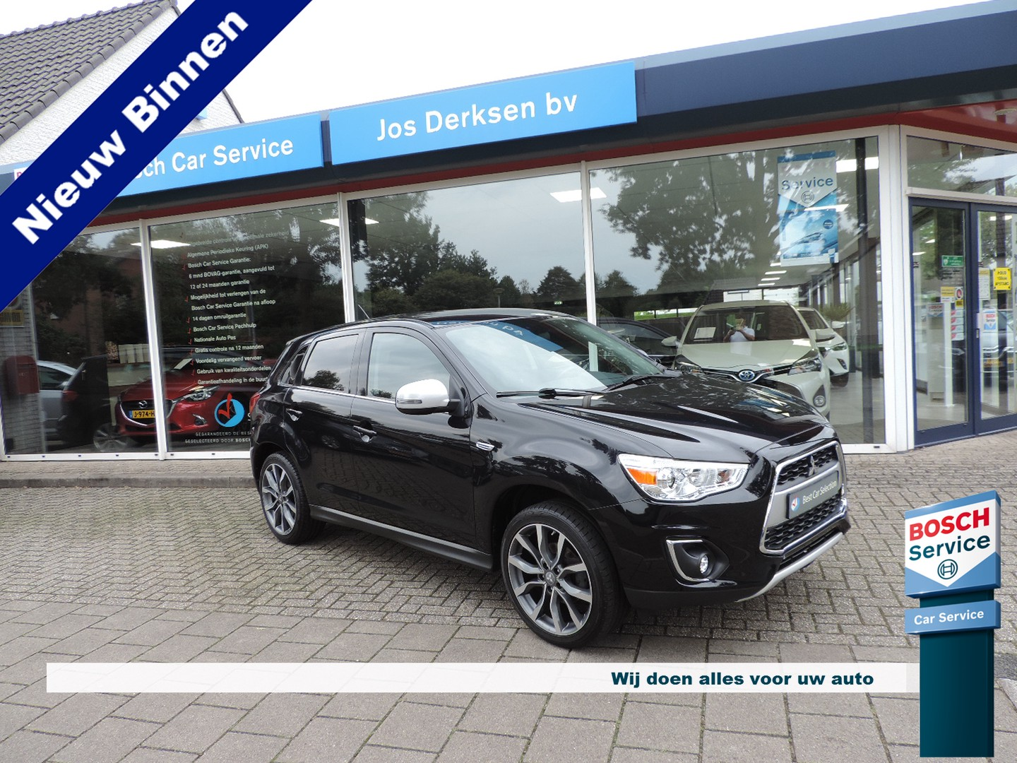 Mitsubishi Asx 1.6 cleartec diamant edition+ - camera