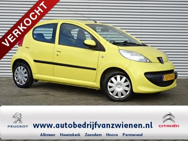 Peugeot 107 5 drs - xs - jaune citrus - radio/cd