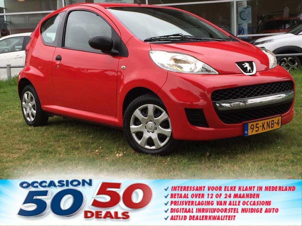 Peugeot 107 1.0 acces scarlet-ruime instap-keurig