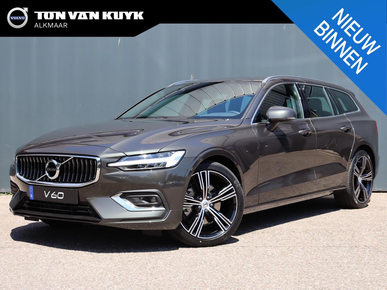 "Volvo V60 2.0 b3 inscription / climate pack / park assist pack / 19"" / draadloos laden / verwarmbaar voorruit"