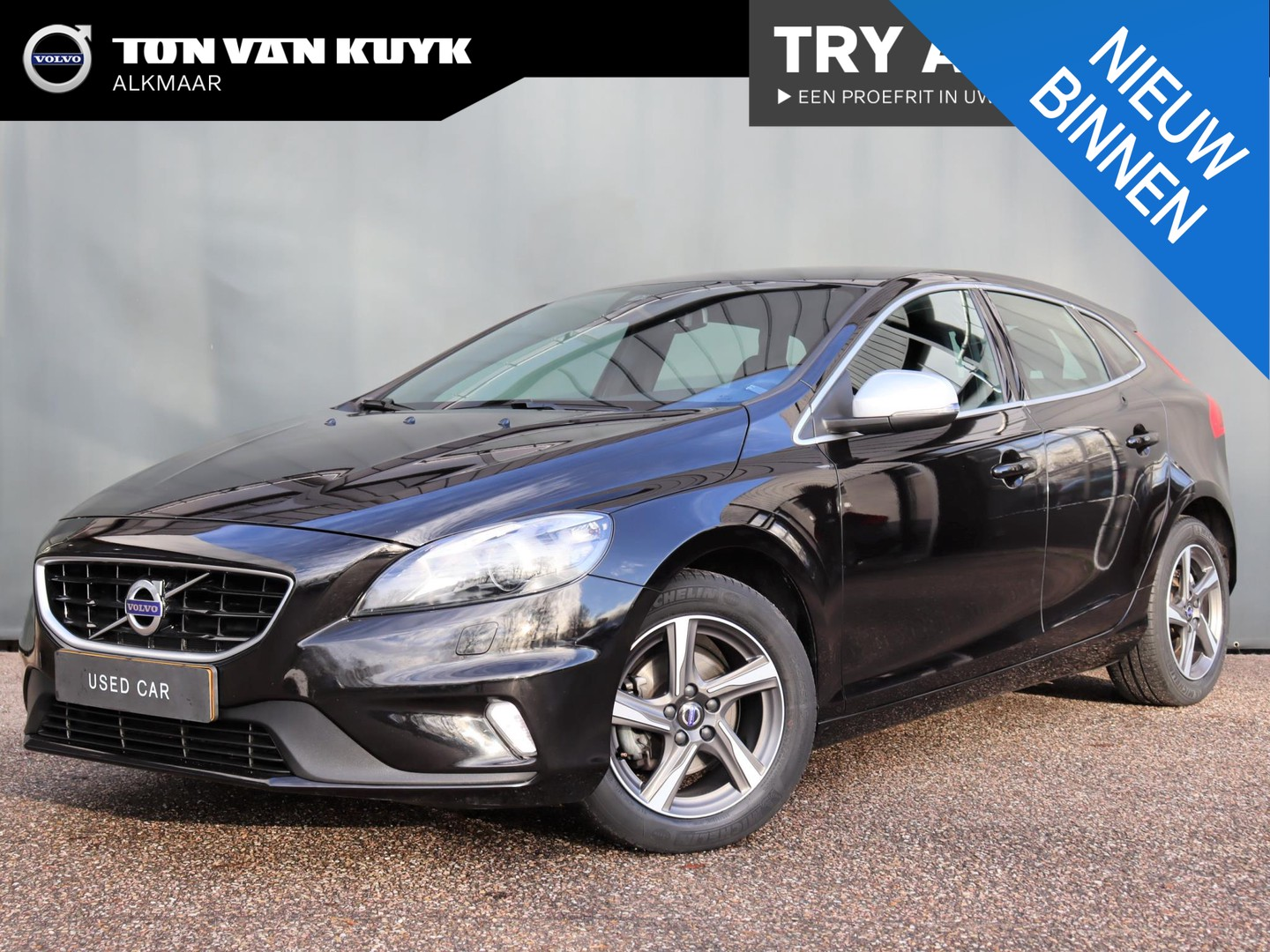 Volvo V40 2.0 d2 r-design business / business pack connect / xenon / stoelverwarming