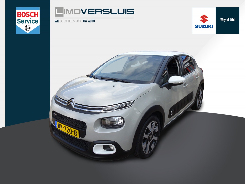 Citroën C3 1.2 puretech shine airco cruise control 6 maanden bovag garantie en nieuwe apk