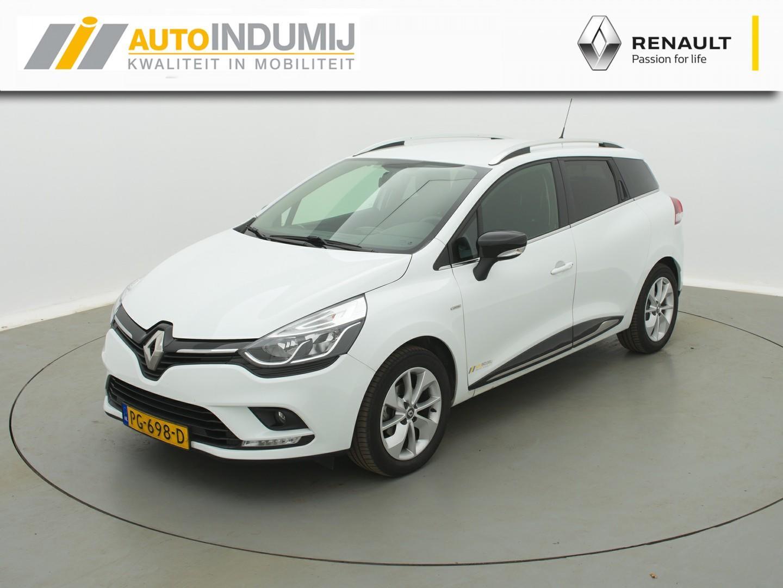 Renault Clio Estate dci 90 limited / navigatie / airco / lichtmetaal