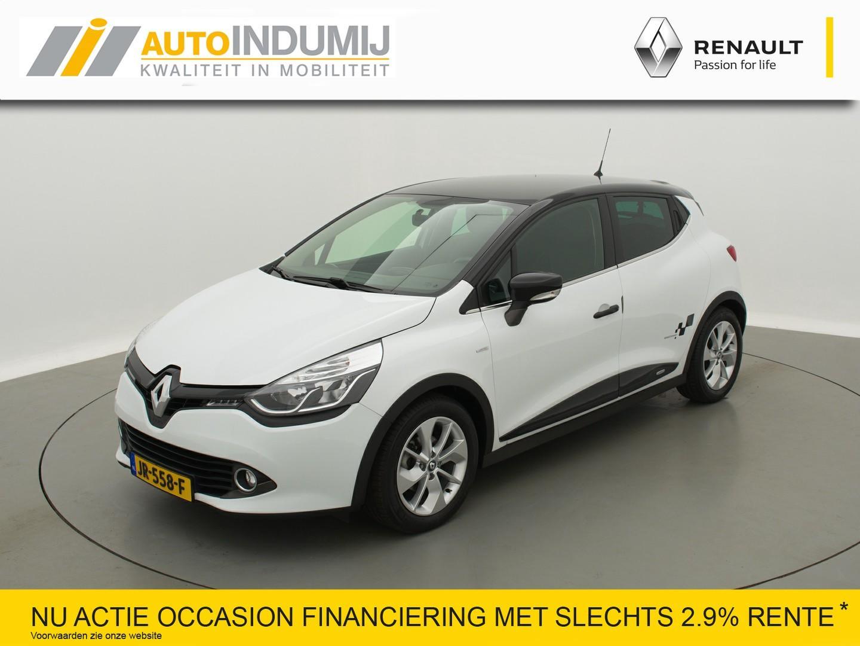 Renault Clio 1.5 dci eco limited / lederen bekleding / navigatie / unieke auto! /