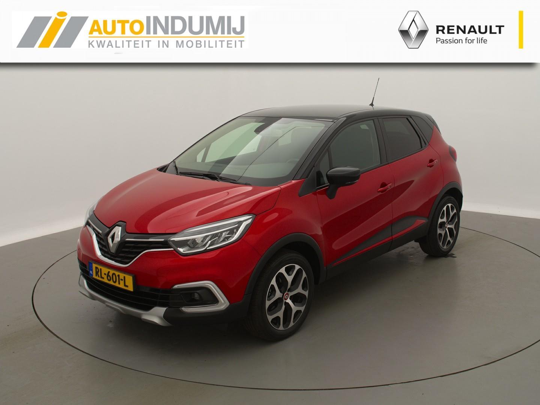 Renault Captur Tce 120 edition one + trekhaak  / 4 cillinders! / stoelverwarming icm lederen bekleding / full option