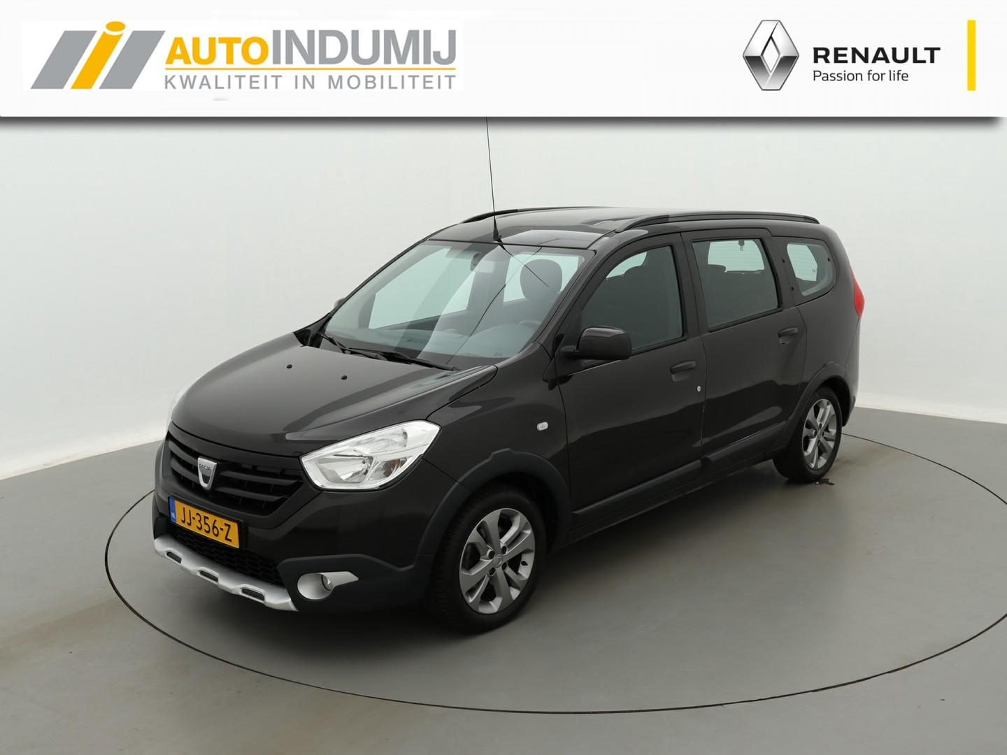 Dacia Lodgy 1.2 tce 115pk stepway 7persoons. + trekhaak / navigatie / cruise control / airco