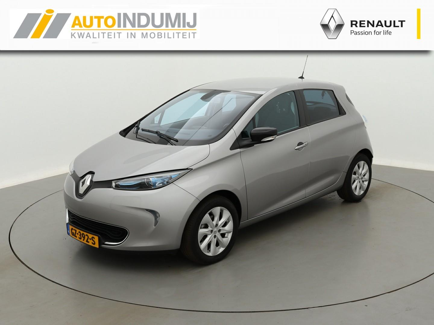 Renault Zoe Q210 zen quickcharge 40 kwh(!!) (ex accu) €2.000,- subsidie!! / grote accu /