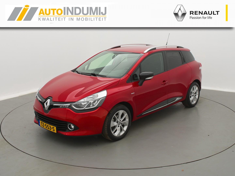 Renault Clio Estate tce 120 edc automaat limited // navigatie / parkeersensoren / lm velgen