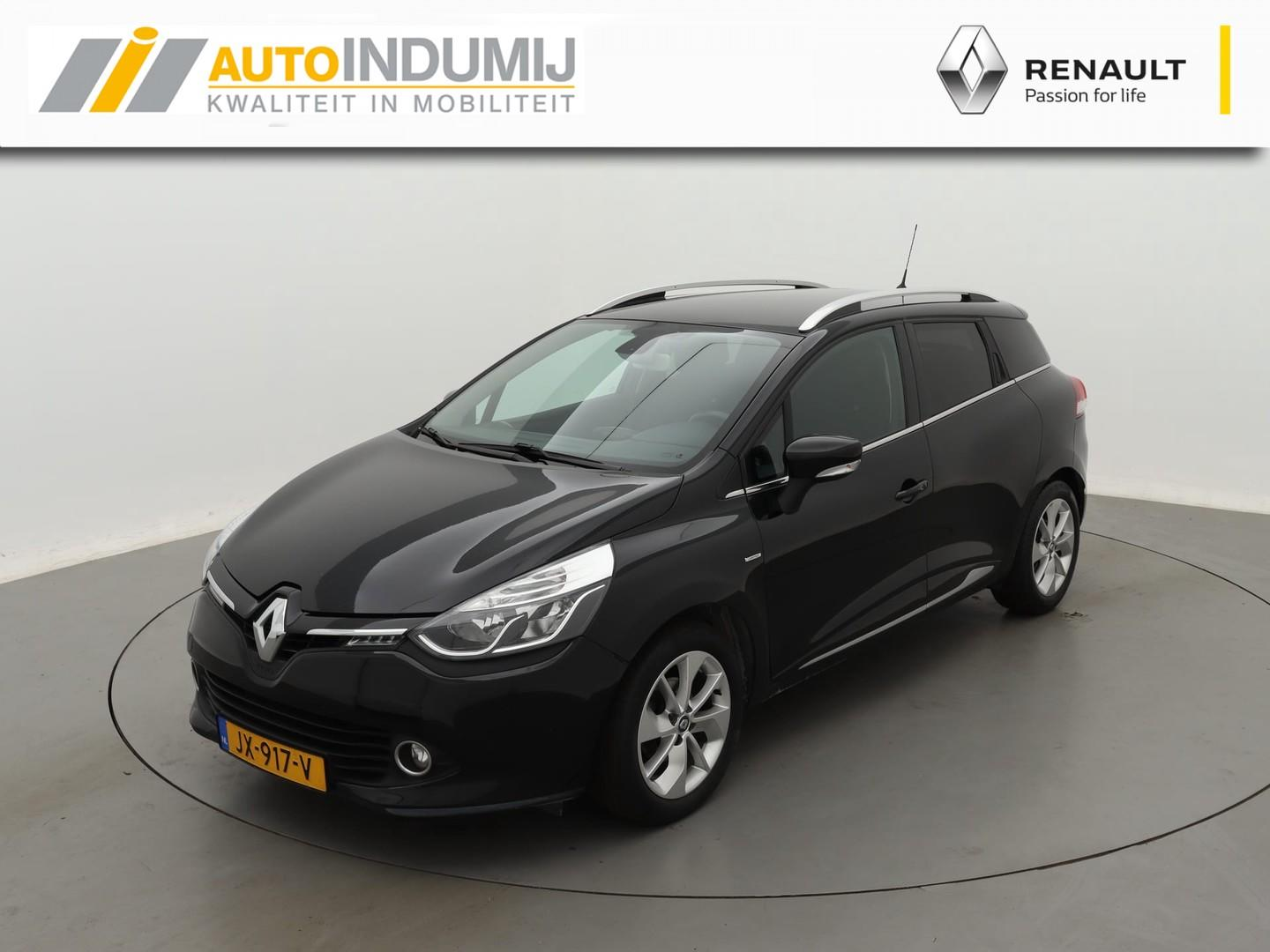 Renault Clio Estate tce 90 limited / climate en cruise control / navigatiesysteem / btw auto!