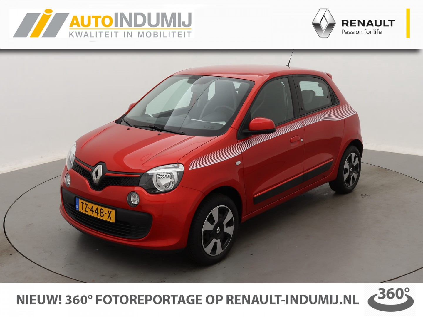Renault Twingo Sce 70 collection // airco / bluetooth & usb /