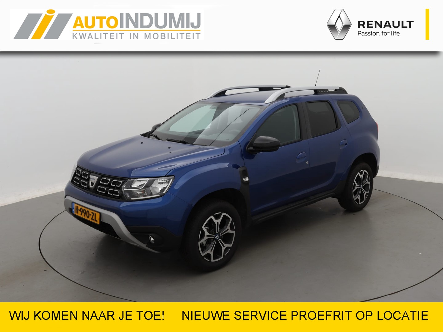 Dacia Duster Tce 130 serie limitee 15th anniversary / trekhaak / handsfree card /  demonstratie auto