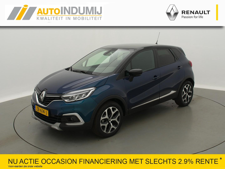 Renault Captur Tce 150 edc automaat intens / parkeersensoren rondom + camera achter!