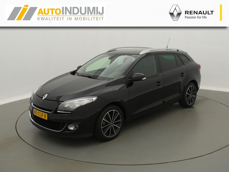 Renault Mégane Estate dci 110 bose / elek glazen schuif-kantel dak / trekhaak / camera!