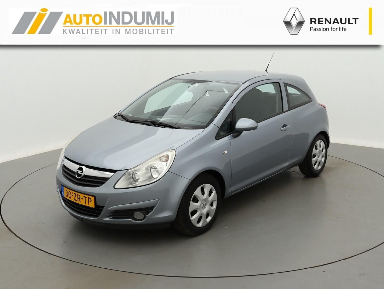 Opel Corsa 1.2-16v automaat enjoy / airco / parkeersensoren achter / trekhaak!