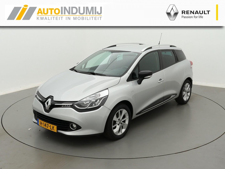 Renault Clio Estate tce 90 limited / navigatie / parkeersensoren achter!