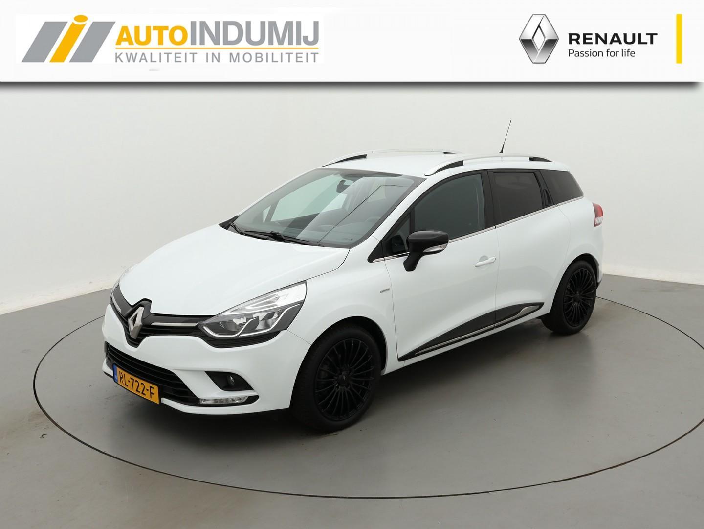 Renault Clio Estate tce 90 limited / parkeersensoren achter / 17'' velgen / afn. trekhaak!