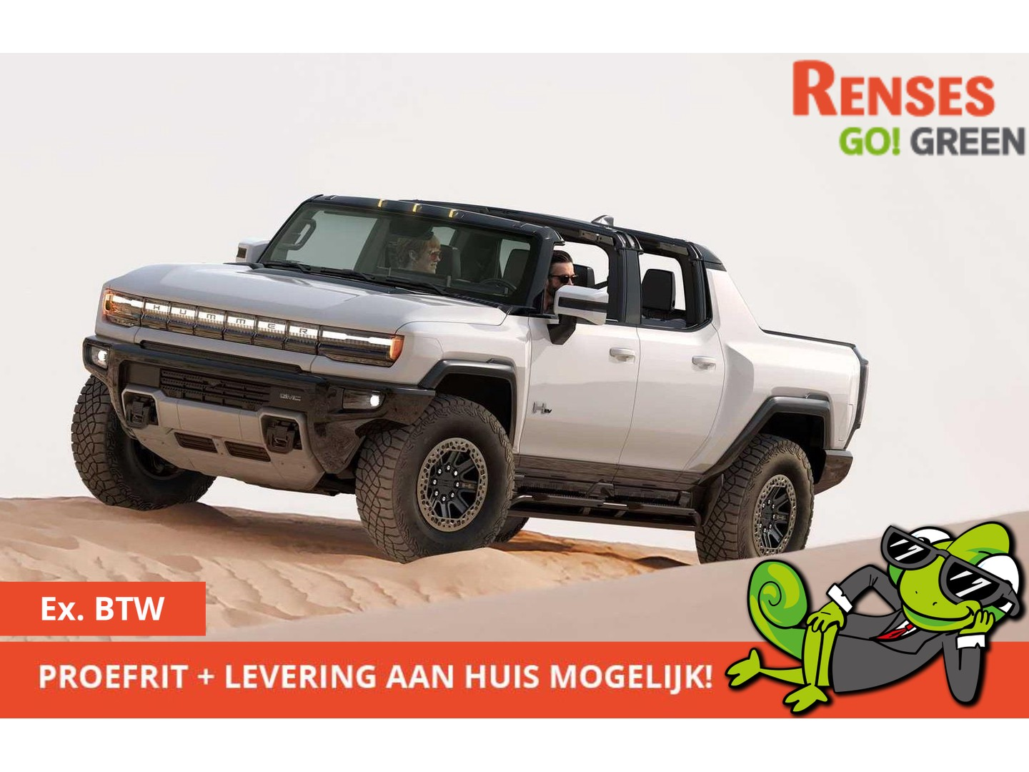 Hummer Ev *bestel in december met road trip in the us*